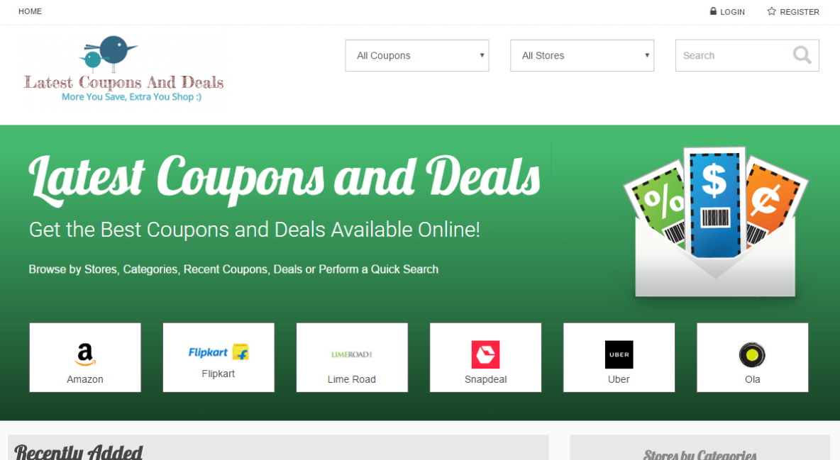 Latest Coupons And Deals
